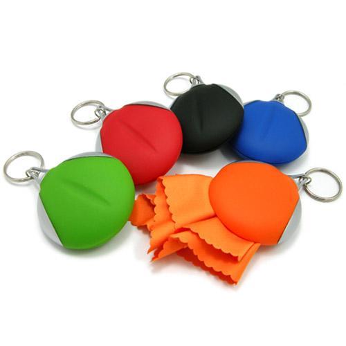【客製化】 超細纖維清潔布鑰匙圈 宣導品 禮贈品 HFPWP   A90-51100-027