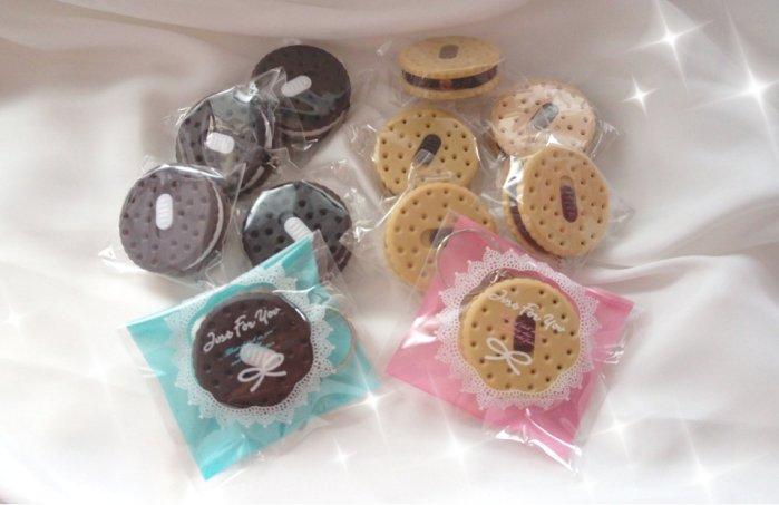 新品~巧克力餅乾手電筒電燈鑰匙圈送客禮(20個)  結婚用品 婚禮小物 禮贈品 ht-0118