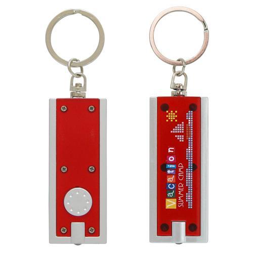 【客製化】迷你LED手電筒鑰匙圈 宣導品 禮贈品 HFPWP A90-1130-094