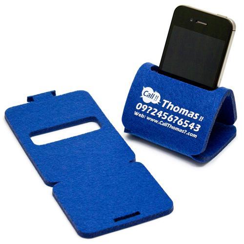 【客製化】桌上型毛氈布手機座 (小尺寸) A90-3150-052