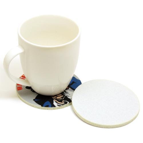 【客製化】5mm厚 毛氈布圓型杯墊 9cm (全彩昇華熱轉印) 宣導品 禮贈品 HFPWP A90-1130-086