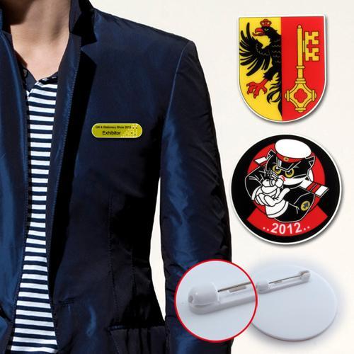 【客製化】 客製化壓克力造型胸章 宣導品 禮贈品 HFPWP  6x3cm A90-3150-061