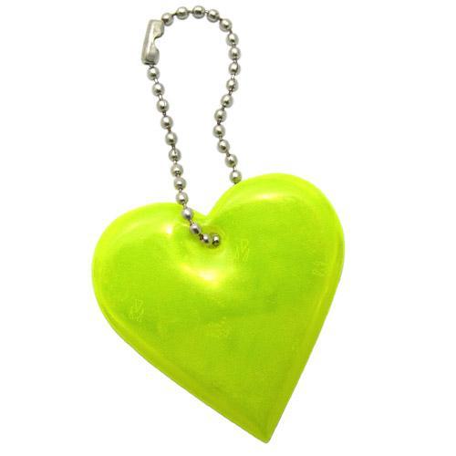 【客製化】愛心反光片 (通過歐規 EN-13356 認證) 宣導品 禮贈品 HFPWP A90-1130-045