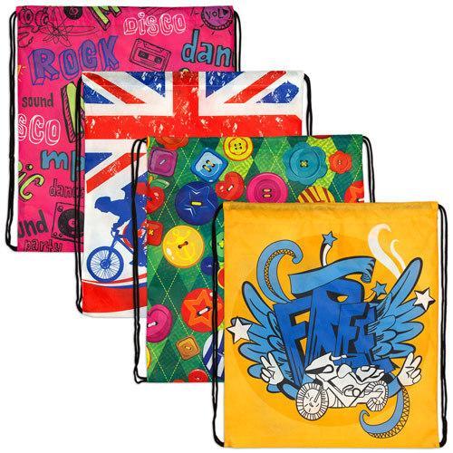 【客製化】彩色昇華便利袋不織布袋 S  宣導品 禮贈品 HFPWP A90-51100-109