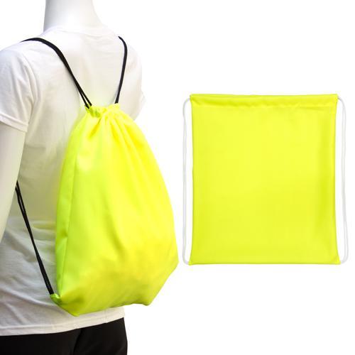 【客製化】100個含1色印刷 超聯捷螢光後背袋 客製 宣導品 禮贈品 S1-40008T-100