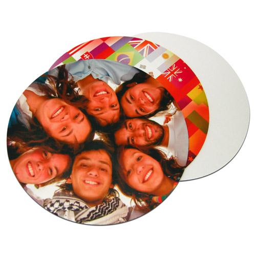 【客製化】全彩昇華熱轉印滑鼠墊 直徑20 cm 天然橡膠底 宣導品 禮贈品 HFPWP A90-51100-054