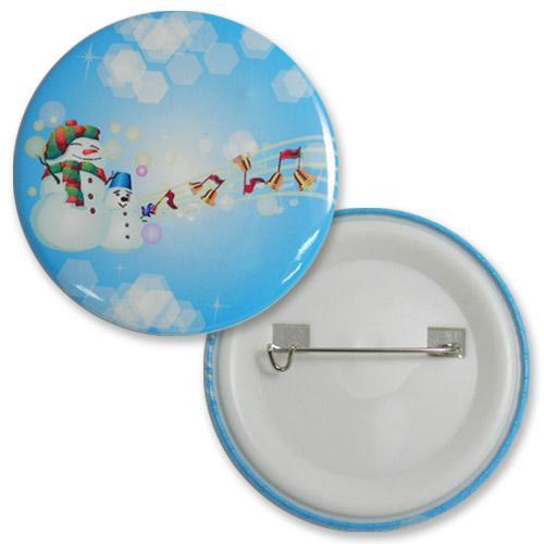 【客製化】56mm 數位印刷塑膠鈕扣胸章+安全別針 宣導品 禮贈品 HFPWP  A90-1130-049