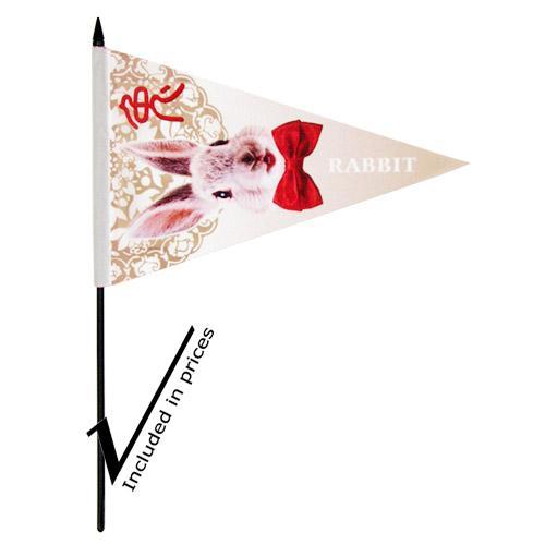 【客製化】 10 x 15cm 全彩三角手搖旗 宣導品 禮贈品 HFPWP A90-1130-106