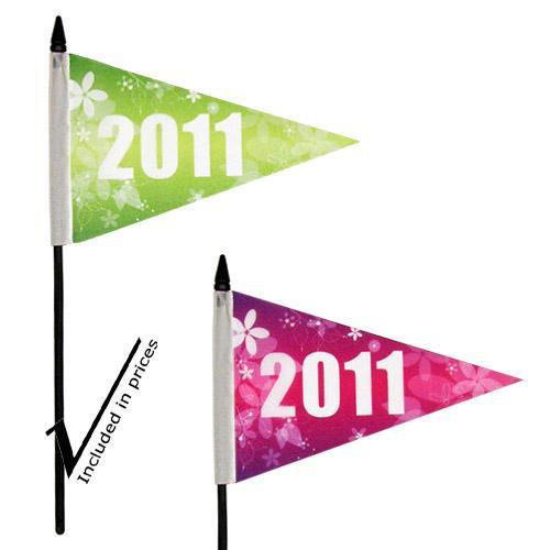 【客製化】 10 x 15cm 全彩三角手搖旗 宣導品 禮贈品 HFPWP A90-1130-083