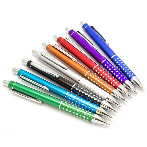 【客製化】 晶鑽塑膠按壓筆  A90-1130-096