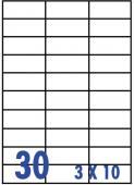 10包 裕德標籤 (20張裝)-30格 US4456-20-10