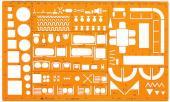 【萬事捷-量販價】室內設計板(1:50)傢俱 923 -10個