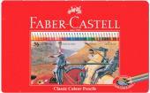 【FABER CASTELL 輝柏】 德國無毒 36色油性色鉛筆/鐵盒115846