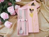 精美不鏽鋼筷子(10入).湯匙組合 適合送客禮 婚宴禮贈品 ht-0010