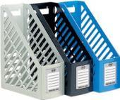 加寬一體成形雜誌箱 環保材質 非大陸製 MF-5180