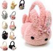 (各款僅剩最後一個)SM-56036 暖呼呼 毛絨多色耳罩 / 保暖多款 兔兔款 熊熊款限量搶購