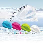 【ABEL力大牌】03933  冰山手持膠台 (4色可選)
