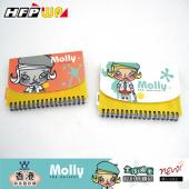【限時】4折 A6筆記本足100張內頁紙 HFPWP 台灣製 Molly MONA6