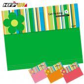 【7折】 HFPWP  限量綠色4合1多功能風琴夾+筆記本設計師精品GP7000F-A