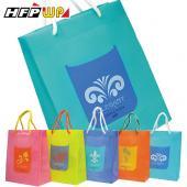 17元/個 [飆低價] 防水購物袋280*230*110mm PP環保無毒 比紙袋耐用 HFPWP 台灣製  BEL317