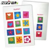 【兒童節特價】【10個量販】HFPWP 花漾L夾文件套PP環保無毒 底部超音波加強 台灣製 E310F2-10