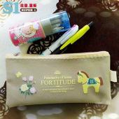 【客製化】22.5元/個筆袋 500個含網版印刷 宣導品 禮贈品 HFPWP D820-PR500