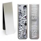 【客製化】 暢銷款磁性書籤(銀) 10 x 2.75 cm 宣導品 禮贈品 HFPWP A90-1130-088