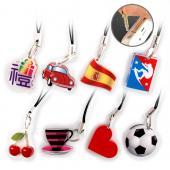 【客製化】2x2cm 壓克力手機耳機插吊飾 宣導品 禮贈品 HFPWP A90-1130-090