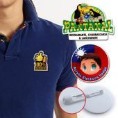 【客製化】 客製化壓克力造型胸章  宣導品 禮贈品 HFPWP  A90-51100-070