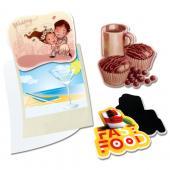 【客製化】 8 cm 客製化壓克力磁鐵 宣導品 禮贈品 HFPWP  A90-51100-086