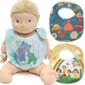 【客製化】嬰兒圍兜 (超細纖維全彩昇華) 20.5 x 23 cm 宣導品 禮贈品 HFPWP  S1-7034-PR