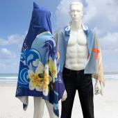 【客製化】昇華熱轉印連帽披肩毛巾 (成人尺寸)  宣導品 禮贈品 HFPWP A90-100-074