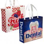 [客製化]  全彩環保不織布袋 -- 37x35cm  100個含印刷 宣導品 禮贈品 HFPWP S1-32011A-100