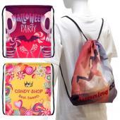【客製化】束口後背包 尼龍袋 100個含印刷含版費 宣導品 禮贈品 HFPWP S1-01008BR-100