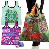 【客製化】印刷折疊購物袋 環保袋 寬 46 x 高 56cm 短提把 尼龍袋 100個含印刷含版費宣導品 禮贈品 HFPWP S1-01004B-100