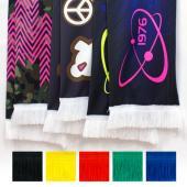 [客製化]  加長尺寸全彩球迷圍巾+螢光黃/螢光粉紅100個含印刷含版費 宣導品 禮贈品 HFPWP S1-41003N-100