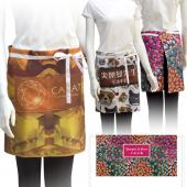 [客製化]  全彩斜紋布半身圍裙+兩口袋20個含印刷 S1-17070B