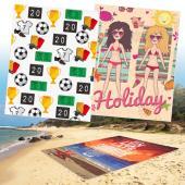 [客製化] 特大單面昇華熱轉印雙人沙灘巾 155x200公分 宣導品 禮贈品 HFPWP  S1-17033L