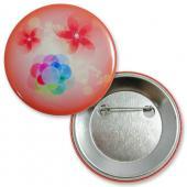【客製化】 56mm 數位印刷馬口鐵鈕扣胸章+安全別針A90-1130-046