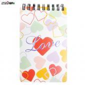 甜蜜愛心口袋型筆記本 PHN3351 HFPWP