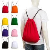 【客製化】兩面全彩昇華 背帶束口後背包 38 x 高 45 公分 尼龍袋100個含印刷 S1-01055-100
