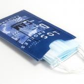 【100個含彩色印刷】超聯捷 口罩收納袋 毛氈布(直式) 台灣製 宣導品 禮贈品 S1-25068-100