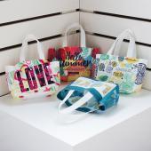 【客製化】2杯裝不織布飲料杯袋環保袋50個 宣導品 禮贈品 HFPWP S1-32026B-50