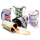 【客製化 】108元/個全罩式潛水布杯袋飲料杯提袋300個含彩色印刷含版費 宣導品 禮贈品 HFPWP S1-37014B-300