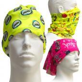 [客製化] 螢光底色魔術頭巾 100個含印刷含版費 S1-40002-100