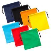 【客製化】100個含1色印刷 超聯捷 不織布束口福袋禮物袋19.5x22cm 宣導品 禮贈品 S1-44001T-100