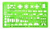 【萬事捷-量販】MBS   906模板 1:100 - 10個